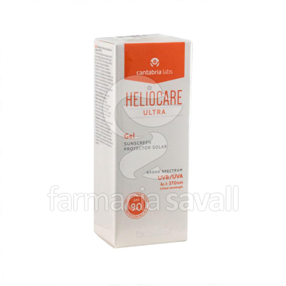 Heliocare ultra spf 90 gel 50 ml regalo farmacia - Farmacia san vicente del raspeig ...